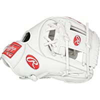 Rawlings Liberty Advanced RLA715-2W - Guante de pelota de softball de 11,75 pulgadas, Blanco