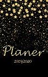 Planer 2019 2020: Wochenplaner von Oktober  2019 bis Dezember 2020 I jeder Tag bietet viel Platz für Notizen und Termine I ToDo-Liste I Terminkalender ... I Zeitplaner I Terminplaner I Design: Sterne - Design-Planer 2019-2020
