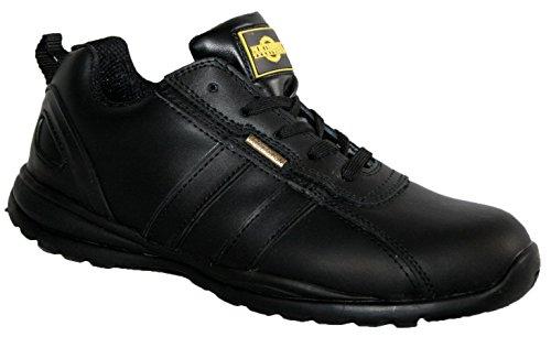 Footwear Studio, Stivali uomo Black Leather