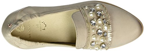 Be Natural 24741, Mocassins Femme Gris (Grey)