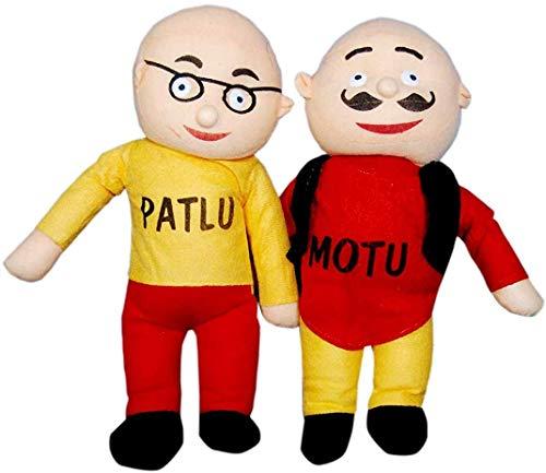 NS-14 Kids Motu Patlu Soft Toy (Multicolour, Height-42 cm)