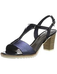 70f42e9004 MARCO TOZZI Women's 2-2-28732-22 Ankle Strap Sandals