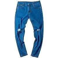 Geili Jeanshose Herren Übergröße Lang Destroyed Used Look Wasserwäsche Jeans Hosen Regular Fit Straight Cargo... preisvergleich bei billige-tabletten.eu