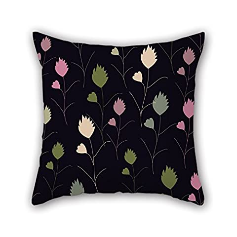 PaPaver Leaf Christmas Pillow Shams 16 X 16 Inches /