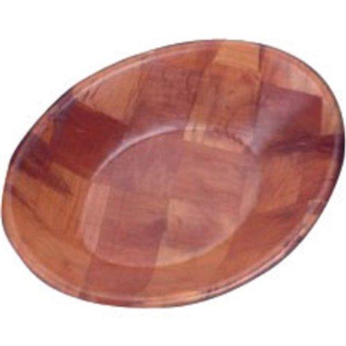 L093Oval cuenco de madera)