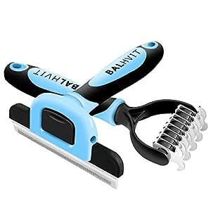 Balhvit Dog Brush Grooming Kit With Deshedding Tool