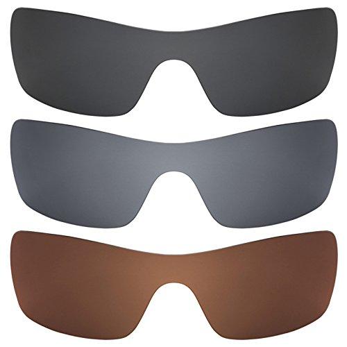 Preisvergleich Produktbild Revant Ersatzlinsen für Oakley Batwolf Polarisiert 3 Paar Kombipack K016