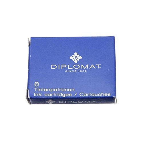 Diplomat d10275212 Hochwertige Tinte(6er Pack)