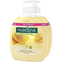 Palm olivo Naturals Leche y miel–Jabón líquido ventaja Pack, 6pack (6x 300ml)