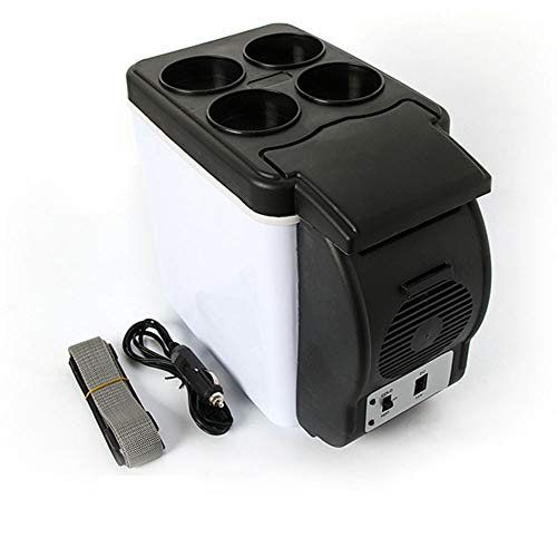 LHAO Mini refrigerador Calentador 6 litros Capacidad
