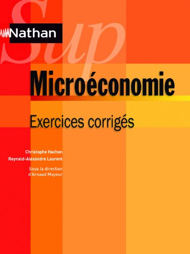 Microconomie - exercices corrigs