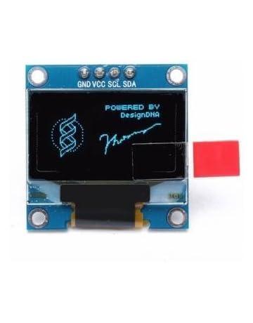 Generic Rsi 0 96 Inch 4Pin Iic I2C Blue Oled Display Module For