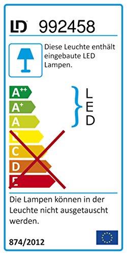LED-Deckenfluter dimmbar mit flexibler Leselampe, zweigeteilter Fluterkopf Stehleuchte Wohnzimmerlampe Standleuchte LED-Fluter, Leseleuchte Standleuchte 1850 Lumen warmweiß