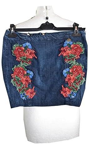 Guess,Damen Jeans-Minirock Baumwolle,Hersteller Gr.25(DE32/34)