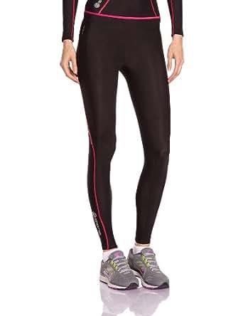 Skins Damen Womens Long Tights A200, Black/Pink, S, B61063001FS
