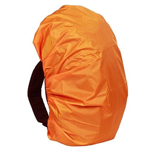 Regenschutz Rucksäcke und Schulranzen Regenhülle Wasserdichter Cover für Outdoor-Aktivitäten Regenabdeckung 15-30L (Farbe zufällige Verteilung)