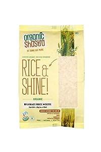 Organic Shastra Basmati Rice White 1 KG
