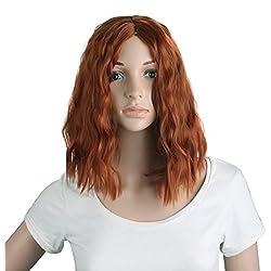 MapofBeauty Sexy charms Side Bangs mujeres corto pequeño rizado cosplay y uso diario pelucas