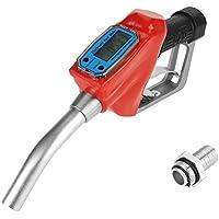 1 PC Digital Heizöl Benzin Düsenpistole Kraftstoff-Liefergewehr Diesel Benzin Öl Lieferpistole Diesel-Benzin Düsenspender Mit Durchflussmesser