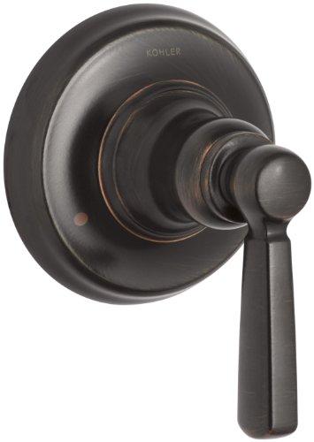 Kohler k-t10595–4-2bz Bancroft Ventil Trim mit Metall Hebel Griff für Transfer Ventil, benötigt, oil-rubbed Bronze (Single Bancroft)