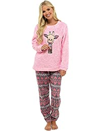 410c2ffb00fc Ladies Pyjamas Set Womens Loungewear Pyjamas for Women Comfy Warm Soft  Womans Lounge Wear Pjs Sets