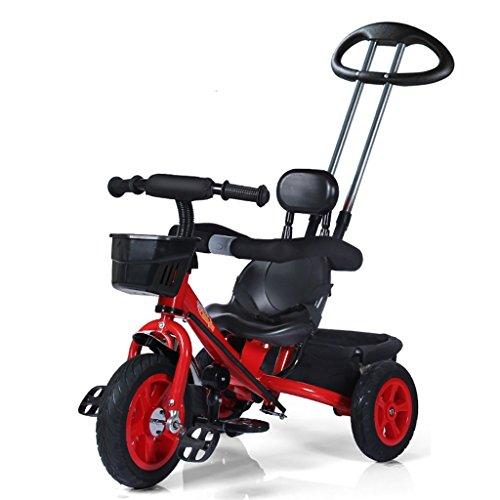 QWM-Baby Kinderfahrräder Männer und Frauen Baby 1-5-jährige dreirädrige Bike/Kinderspielzeug Pedal Kindergeschenk-QWM (Farbe : C)