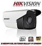Hikvision IP Camera 2mp Full hd 1080p Bullet Outdoor Network Security CCTV Camera