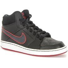 Nike - Nike Backboard 2 Mid (GS) Zapatos Deportivos Negro Alto 488157 - Negro, 37,5