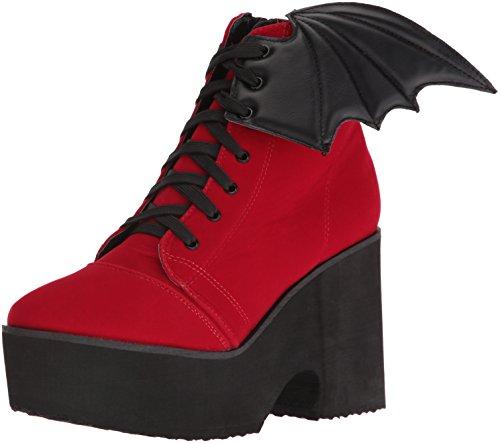 Iron FistBat Wing Boot - Stivali bassi con imbottitura leggera Donna , Rosso (Rosso (rosso)), 38