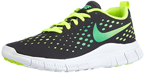 Nike Free Express 641862 Unisex-Kinder Sneakers Schwarz (Black/Light Green Spark-Volt-White)