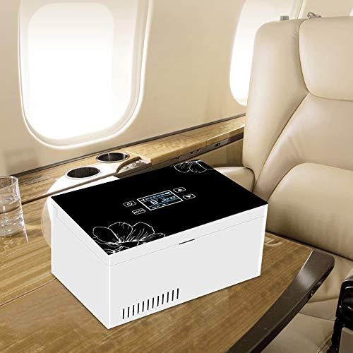 41nt%2B5k0BpL - Refrigerador PortáTil De Insulina Mini Refrigerador Enfriador EléCtrico Nevera Coche Refrigerador De Medicamentos para El Hogar Oficina Viajes 2-18 ° C Negro
