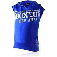 Boxeur Des Rues BXT-4477 - Sudadera de hombre, Azul Real, XL