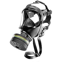 Dräger CDR 4500 avec Filtre A2B2E2K2 P3 R D/NBC | Plus Haute Classe de Protection | Masque Complet de Protection Civile pour catastrophes avec Rd40 Filtre