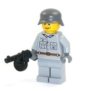 LEGO - Figurine Soldat Guerre Mondiale 2 Avec Arme PPSh 41