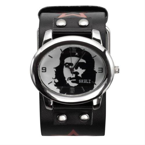 che-guevara-bande-de-cuir-blanc-montre