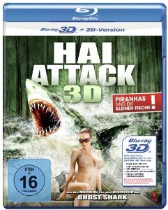 Bild von Swamp Shark ( Flying Jaws (Killer Shark) ) (3D & 2D) [ NON-USA FORMAT, Blu-Ray, Reg.B Import - Germany ]