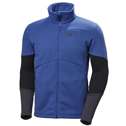 Helly Hansen Eq Black Midlayer, Tuta Sportiva Uomo Blu (Olympian Blu)