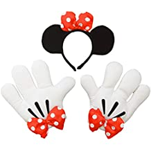 Headband and glove set Minnie Headband & Glove Set Minnie 802596 (japan import)
