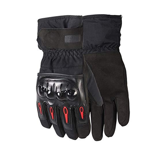 Ski Kostüm Xxl - SHOU Mode Motorrad Ski Winddicht wasserdicht warm Road Riding Handschuhe, XXL