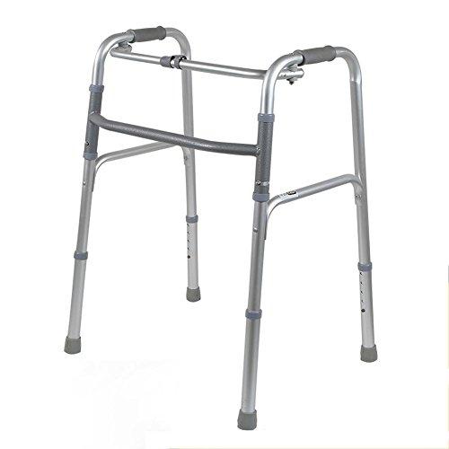 SDKKY Aluminium Folding Walker 84*57 ältere Personen mit Behinderungen medizinische Rehabilitation Walker Verband der älteren Personen