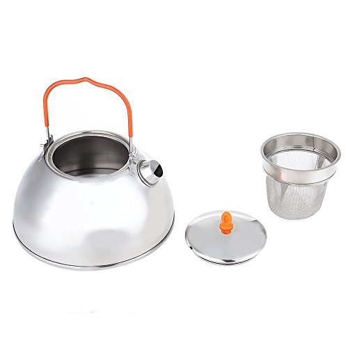 a682736aed7 MyLifeUNIT Outdoor Camping Hiking Kettle