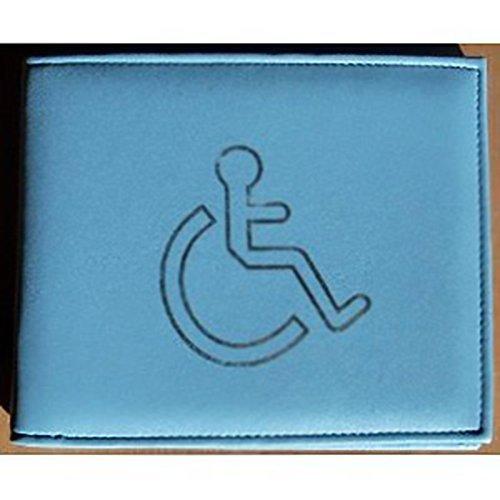 blue-leather-disabled-badge-holder
