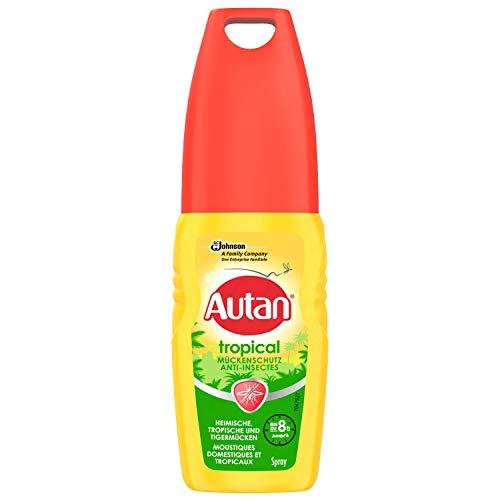 Autan Tropical Pumpspray Insektenschutz Pumpspray für Körper und Gesicht, zum Schutz vor heimischen und tropischen Mücken, 1er Pack (1 x 100 ml) preisvergleich