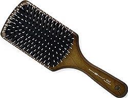 Mit Naturborsten und hitzebeständigen Polyamidstiften mit haarschonenden Rundköpfen. Zum Stylen des mittellangen bis langen Haares.