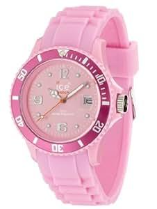 ICE-Watch - Montre Mixte - Quartz Analogique - Ice-Forever - Pink - Unisex - Cadran Rose - Bracelet Silicone Rose - SI.PK.U.S.09