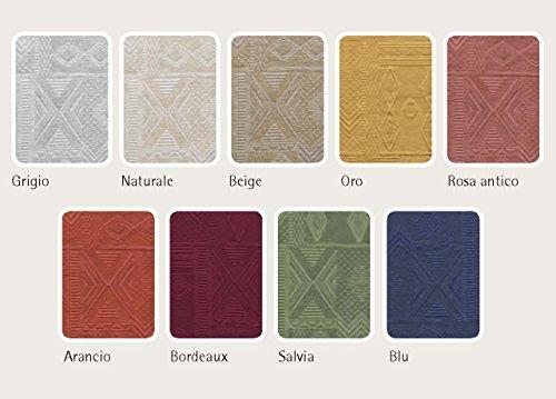 Housses modèle Mexico Fascia Quadrata 4Pz nature