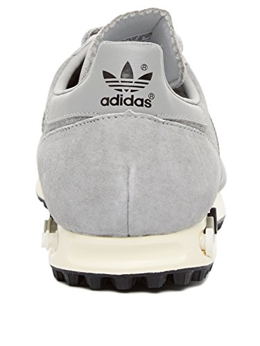 Basket, couleur Gris , marque ADIDAS ORIGINALS, modÚle Basket ADIDAS ORIGINALS LA TRAINER OG Gris mgh solid grey/mgh solid grey/core black