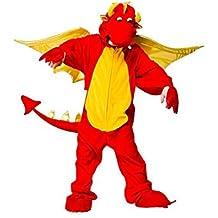 Fire Breathing Dragon - Kids Costume 5 - 6 years