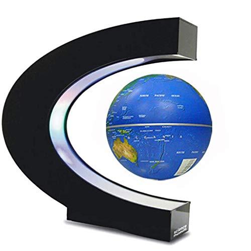 XHHWZB Magnetschwebebahn, Hochrotations-C-Form Magnetaufhängung Magnetschwebebahn mit LED-Lichtern für das Lernen der Ausbildung, die Demo-Büro-Inneneinrichtung-Schreibtisch-Dekoration unterrichtet