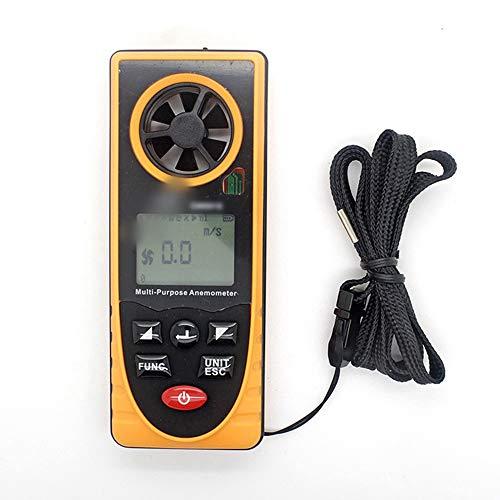SUIWO Windmesser Digital-Anemometer Handwindgeschwindigkeit Meter-Messgerät Multi-Funktions-Thermometer und Hygrometer Atmosphärischer Druck Illuminometer Höhe Umgebungslichtrichtung